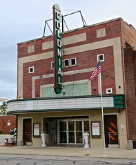 Colonial Theater, Tarboro, NC (Robby Virus) Tags: tarboro northcarolina nc colonial theater theatre cinema movies marquee neon sign signage
