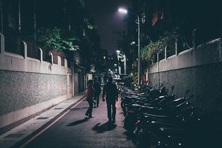 深夜的城市