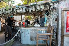 Robbie's of Islamorada Thirsty Tarpon Bar, Florida Keys (mklinchin) Tags: 2014 florida keywest keys vacation islamorada unitedstates us login dollar money bar travel