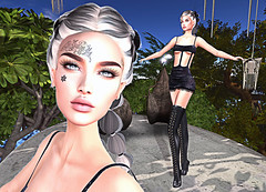 LuceMia - The Darkness Monthly Event (MISS V♛ ITALY 2015 ♛ 4th runner up MVW 2015) Tags: thedarknessmonthlyevent sl secondlife new event posesion poses boot adris king tattoo ubs face shantal set barcelona nyne hair tsl creations mesh beauty maitreya belleza models lucemia