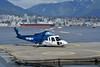 DSC_0898_001_ (wfung99_2000) Tags: helicopter helijet vancouver s76 takeoff harbour north shore mountains snow capped