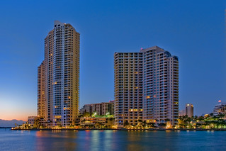 Brickell Key, City of Miami, Miami-Dade County, Florida, USA