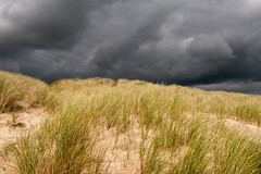 Cloudy Sky on The Beach (Shutterbugsafari) Tags: nature storm scenic sky sea beach water outdoor ocean shore dangerous travel beautiful thunder coastal scary dark landscape depression twilight looming scenery meteorology seascape weather background breaking extreme thunderstorm