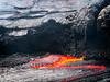 Lava Waves (Fotografie mit Seele) Tags: ertaale danakildepression afar triangle volcano vulkan äthiopien ethiopia lava eruption red smoke liquid crust kruste pahoehoe