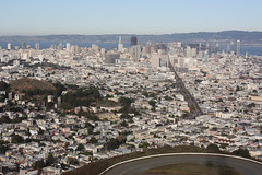 City of San Francisco (davidjamesbindon) Tags: san francisco california usa united states america twin peaks city overview lookout neighbourhood houses homes bay