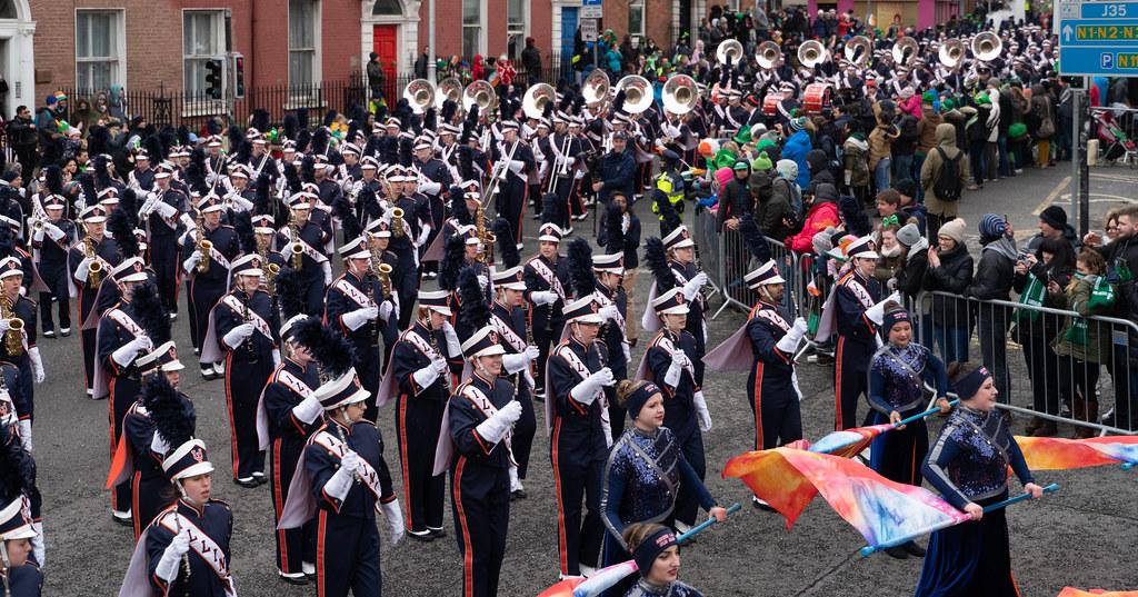 DUBLIN SAINT PATRICKS PARADE 2018 [THE MARCHING ILLINI]-137396