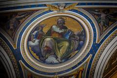 Mosaik des Hl. Matthäus (Markus Wollny) Tags: city vatikan rom cittàdelvaticano vatikanstadt it