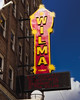 The Wilma (Hammond Deggs) Tags: blue montana cinema theater movie film motion picture neon sign marquee pop corn