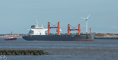 Nordmosel (frisiabonn) Tags: nordmosel bulk carrier handysize cargo vehicle ship water wirral liverpool england uk britain marine vessel river mersey merseyside sea shore waterfront maritime boat outdoor