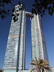 St. Regis Hotel (Thomas Schirmann) Tags: abudhabi emiratsarabesunis unitedarabemirates aboudabi hotel stregis tour tower gratteciel skyscraper