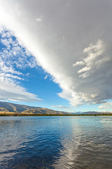 Clouds over Clutha River