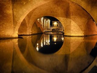 Comacchio by night