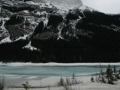 Spring Banff Parkway (Mr. Happy Face - Peace :)) Tags: art2018 scenery mountains ice snow spring albertabound bc yoho banff yyc canada landscapes forest lake trees snowcaps