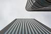 convergence (Rudy Pilarski) Tags: nikon nb bw monochrome tamron d7100 2470 architecture architectura abstract abstrait immeuble grateciel building skyscraper sky ciel nuage cloud france paris ladéfense city ciudad ville