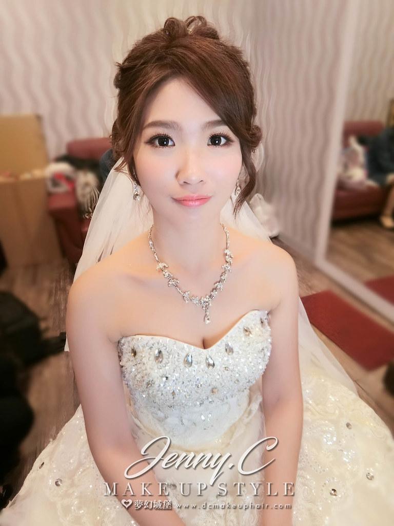 【新秘蓁妮】bride雅欣 結婚造型 / 豐原青柳日式料理店