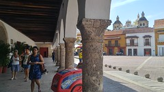 Cartagena (Tomas Belcik) Tags: plaza church interior columns cathedral cartagena colombia oldtown streets lanes colonial architecture colonialarchitecture