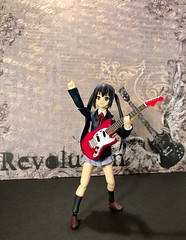 I Wanna Be a Rock Star! (Sasha's Lab) Tags: azusa nagano 中野 梓 kon azunyan azumeow guitar musician high school uniform teen girl rock roll dream figma action figure jfigure gsc htitft explored