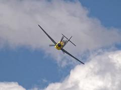 Bf 109 (Seabird NZ) Tags: newzealand otago wanaka warbirds warbirdsoverwanaka aircraft plane airshow nikond810a sigma120300mmf28 teleconverter dxophotolab bf109 me109 messerschmitt