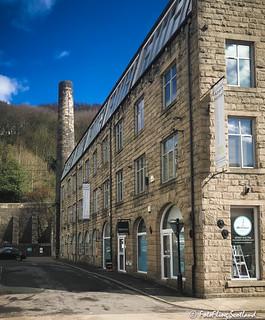 Croft Mill -Textile Mill Conversion at Hebden Bridge