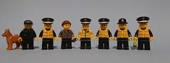 Hot Fuzz (KPFR5Q2XZXQW774THJOIGWTBCI) Tags: lego police polis cop copper taser bobby peeler pc landshark dog doris brickforge gendarme polizei