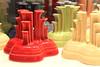 Fiestaware candle holders. (Joseph Skompski) Tags: fiestaware fiesta pottery many colorful