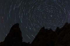 Spiral (sofiasamarah) Tags: review winter stars astrophotography long exposure star trails rocks joshua tree night sky sparkle sparkling sparkly sofia samarah photography