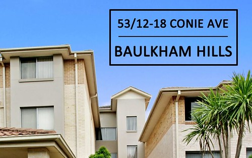 53/12 Conie Av, Baulkham Hills NSW 2153