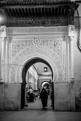 Funky cool medina (mripp) Tags: art vintage retro old city urban stadt historic landscape hul black white mono monochrom morocco marokko medina marrakech africa architecture fabric built heritage leica m10 summilux 50mm