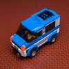 60117 alternate minivan (KEEP_ON_BRICKING) Tags: lego city set 60117 alternate moc mod legoset minivan studs bricks reddish brown baseplate keeponbricking