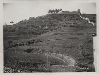Ascoli com'era: una vista sulla Fortezza Pia (193?)