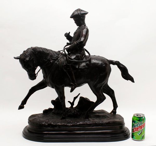 Remington Bronze Sculpture ($1,288.00)
