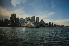Downtown Vancouver (Photo Alan) Tags: vancouverdowntown water city sea skyline skyscraper boat sky building vancouver landscape canada refection