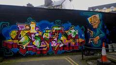 On the Wall. (mcginley2012) Tags: graffiti art colour urban street galway ireland