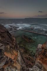 North Curl Curl Sunrise 13 (RoosterMan64) Tags: australia landscape longexposure nsw northcurlcurl northernbeaches ocean oceanpool rockpool rockshelf rocks seascaspe sunrise