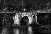 Les restes du pont Rotto - Rome (Bouhsina Photography) Tags: pont ruines rivière nuit rotto rome italie bouhsina bouhsinaphotography canon 5diii tibre 2018 nouretblanc bw black white branches arbre horreur contraste