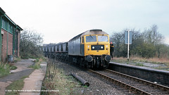 21/04/1983 - Grange Lane (SYR), Ecclesfield, South Yorkshire. (53A Models) Tags: britishrail class47 47278 diesel freight grangelane ecclesfield southyorkshire train railway locomotive railroad