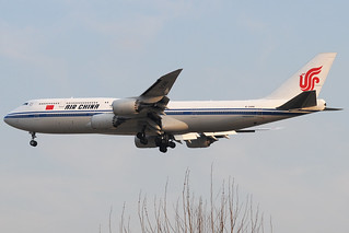 B-2486 - Boeing 747-89L - Air China @ FRA