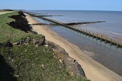 DSC_0309 (.Martin.) Tags: happisburgh coast norfolk sea seaside beach coastal erosion cliff cliffs cley sand rock