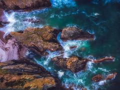 Aerial Endeavour (Augmented Reality Images (Getty Contributor)) Tags: portknockie longexposure coastline landscape sea scotland cliffs water waves seascape morayfirth dji polarprofilters mavicair rocks unitedkingdom gb