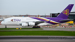 Thai Airways Airbus A380-841 HS-TUF (StephenG88) Tags: londonheathrowairport heathrow lhr egll 27r 27l 9r 9l boeing airbus april16th2018 16418 myrtleavenue renaissanceheathrow thaiairways thai tha tg a380 a388 a380800 a380841 hstuf