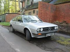1983 Alfa Romeo Alfasud Sprint Veloce (quicksilver coaches) Tags: alfaromeo alfasud sprint elp990y bicesterheritage bicester