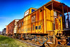 Grand Rapids, Ohio photo meetup /walk (Scott Stults) Tags: canon eos rebel t6i efs 1855mm is stm aperture shutter priority grand rapids ohio photo meetup walk sunset train car vintage caboose toledo lake erie western railway engine