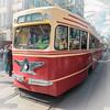 Old-time tram parade (Vadim Tsymbalyuk) Tags: tram oldtime retro street