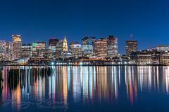 Boston Skyline (Jimmy Harmon) Tags: water ocean harbor boston massachusetts cityscape skyline