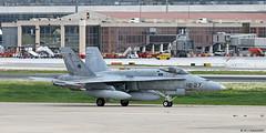 Ejército del Aire McDonnell Douglas EF-18M Hornet C.15-69/12-27, Ala 12 at Malaga AFB/LEMG for DAPEX-18 (Mosh70) Tags: malagacostadelsolairport lemg ejércitodelaire ef18m ef18mhornet mcdonnelldouglas ala12 dapex18