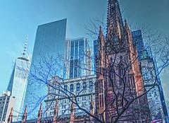 Trinity Church-1 (albyn.davis) Tags: church buidling architecture wtc nyc newyorkcity contrast city urban cityscape color