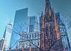 Trinity Church-1 (albyn.davis) Tags: church buidling architecture wtc nyc newyorkcity contrast city urban cityscape color landmark