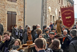 The parade of winemakers