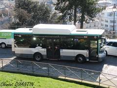 PVI Oreos 4X - 0813 - RATP (Clément Quantin) Tags: bus autobus midibus électrique urbain ligne pvi gépébus oreos 4x oreos4x 0813 dx356cr ratp paris montmartrobus belliard