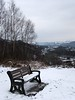 20180318-141452 (aderixon) Tags: naturelandscapehill natureplanttree natureweathersnow objectfurnitureoutdoorbench pontypridd midglamorgan walesuk nature snow weather